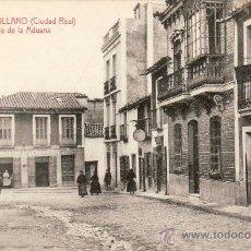 Postales: PUERTOLLANO - CIUDAD REAL - CALLE ADUANA -.. Lote 24117254