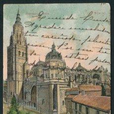 Postales: TOLEDO. LA CATEDRAL. HISTORIA Y ARTE NÚM. 12. FOT. LAURENT. SIN DIVIDIR. Lote 26475383
