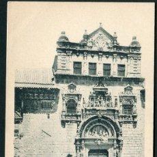 Postales: TOLEDO. PORTADA DEL HOSPITAL DE SANTA CRUZ. NÚM. 46 FOT. LAURENT. SIN DIVIDIR. Lote 26475384