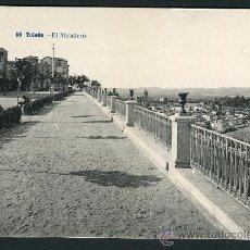 Postales: TOLEDO. EL MIRADERO. 56. FOT LACOSTE.. Lote 26578977