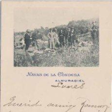 Postales: ALMURADIEL (CIUDAD REAL).- NAVAS DE LA CONDESA. Lote 25123507