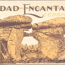 Postales: ÁLBUM CIUDAD ENCANTADA (CUENCA).- SERIE 2.- 20 POSTALES. Lote 25123873