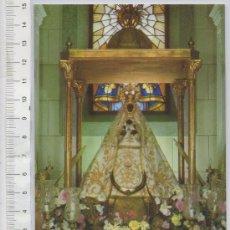 Postales: TARJETA POSTAL DE NOVES TOLEDO NTRA. SRA. DE LA MONGIA VIRGEN IMAGEN RELIGIOSA TALLA. Lote 27560072