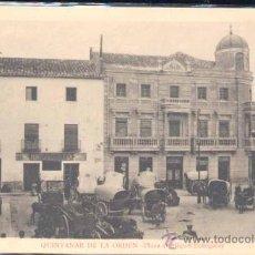 Postales: QUINTANAR DE LA ORDEN (TOLEDO).- PLAZA DE MIGUEL ECHEGARAY. Lote 26119888