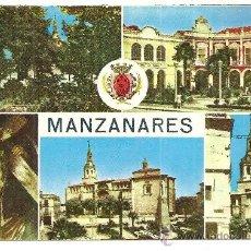 Cartes Postales: MANZANARES. Lote 26258473