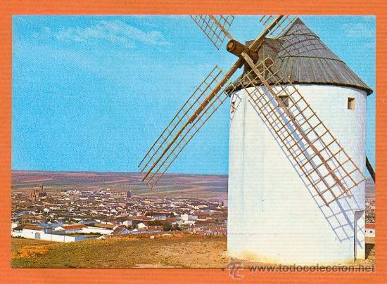 MOTA DEL CUERVO - CUENCA - VISTA PARCIAL - ED. FITER AÑO 1967 (Postales - España - Castilla la Mancha Moderna (desde 1940))