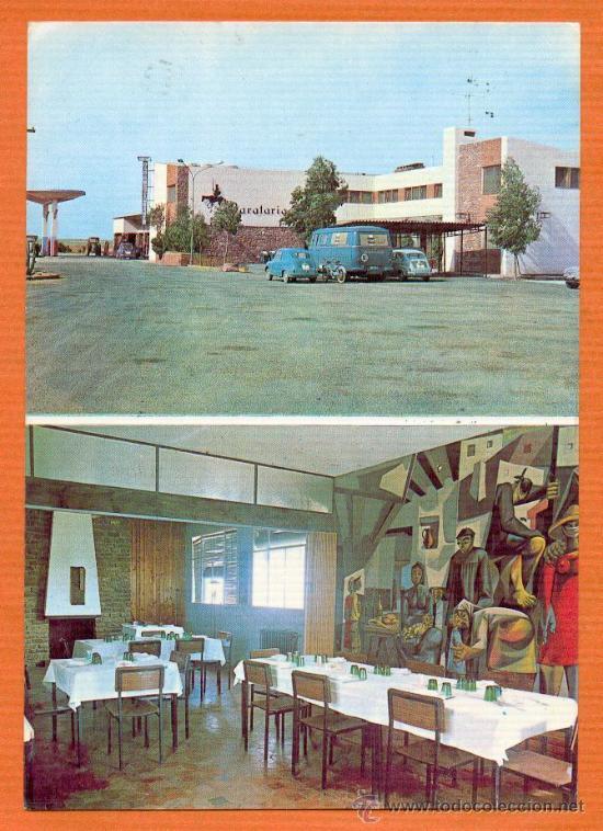HOTEL RESTAURANTE BARATARIA - ALCAZAR DE SAN JUAN - CIUDAD REAL - ED. VDA. DE MATA AÑO 1968 (Postales - España - Castilla la Mancha Moderna (desde 1940))