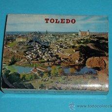 Postales: CARPETA - TIRA - ACORDEÓN 20 POSTALES TOLEDO 10,5 X 7,5 CM. Lote 27316732