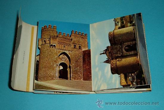 Postales: CARPETA - TIRA - ACORDEÓN 20 POSTALES TOLEDO 10,5 X 7,5 CM - Foto 2 - 27316732