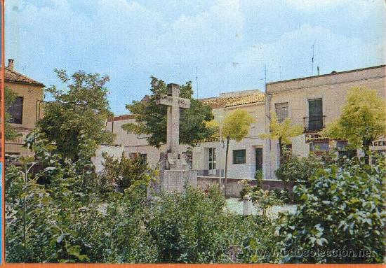 TARANCON - CUENCA - PLAZA DE JESUS Y CRUZ DE LOS CAIDOS - Nº 2268 ED. FITER - AÑO 1974 (Postales - España - Castilla la Mancha Moderna (desde 1940))