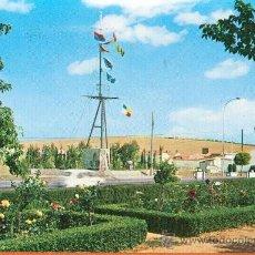 Postales: ALMURADIEL - CIUDAD REAL - JARDINES Y MONUMENTO A LA MARINA - Nº 2 ED. VISTABELLA - AÑO 1973. Lote 27428623