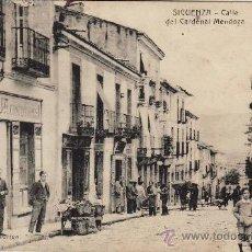 Postales: SIGUENZA - CALLE DEL CARDENAL MENDOZA -. . Lote 27490702