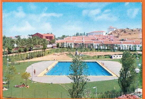 VISTA GENERAL DEL POLIDEPORTIVO PRINCIPE DE ESPAÑA - ALMADEN - Nº 5 VIUDA DE MOISES MATA (Postales - España - Castilla la Mancha Moderna (desde 1940))