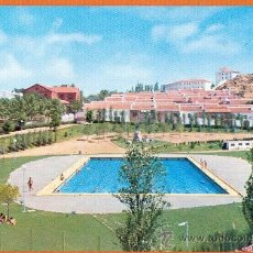 Postales: VISTA GENERAL DEL POLIDEPORTIVO PRINCIPE DE ESPAÑA - ALMADEN - Nº 5 VIUDA DE MOISES MATA. Lote 27749786