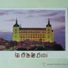 Postales: POSTAL TOLEDO - ALCAZAR VISTA NOCTURNA - SIN CIRCULAR . Lote 27813087