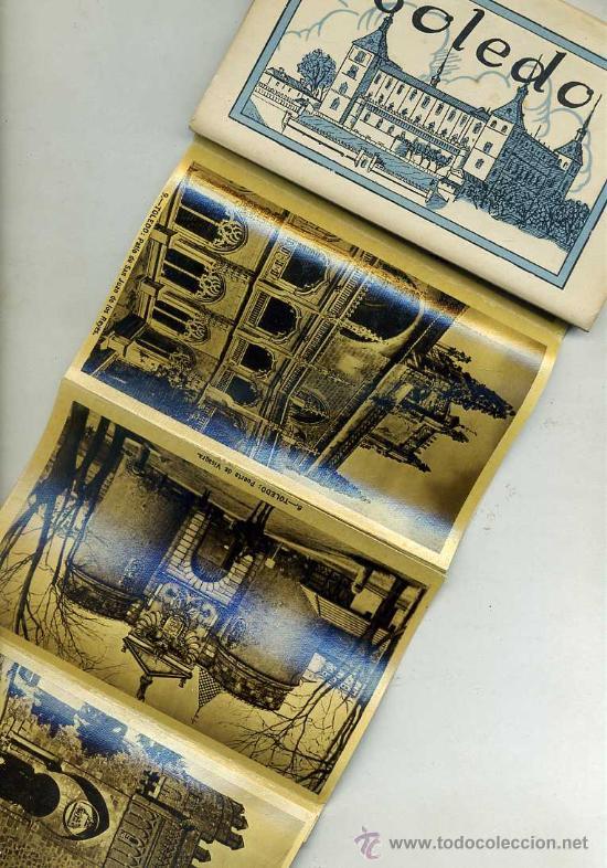 DOCE POSTALES HELIOTIPIA ARTÍSTICA ESPAÑOLA TOLEDO (Postales - España - Castilla La Mancha Antigua (hasta 1939))