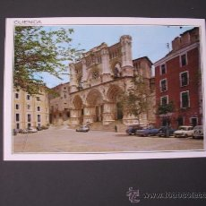 Postales: POSTAL CUENCA - CATEDRAL Y PLAZA MAYOR - SIN CIRCULAR. Lote 27871784