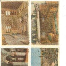 Postales: TOLEDO: PUENTE DE ALCÁNTARA.-SANTA MARÍA LA BLANCA.-CASA DEL GRECO.-SINAGOGA DEL TRÁNSITO. Lote 28182084