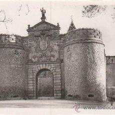 Postales: TOLEDO, PUERTA DE BISAGRA, EDITOR: ARRIBAS Nº 65. Lote 28874943