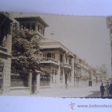 Postales: INTERESANTE POSTAL FOTOGRAFICA DE ALBACETE CALLE DE TESIFONDE GALLEGO. Lote 29010768