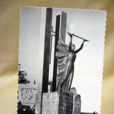 Postales: POSTAL, TROQUELADA, TOLEDO, MONUMENTO A LOS HEROES DE ALCAZAR, GARCIA GARRABELLA. Lote 29307638