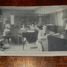 Postales: ANTIGUA POSTAL DE LA PANIFICADORA DE VALDEPEÑAS S.A. - CIUDAD REAL - VISTA PARCIAL DE UNA DE LAS DEP. Lote 29249964