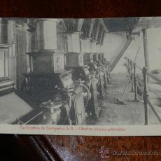 Postales: ANTIGUA POSTAL DE LA PANIFICADORA DE VALDEPEÑAS S.A. - CIUDAD REAL - CILINDROS SISTEMA AUTOMATICO - . Lote 29249982