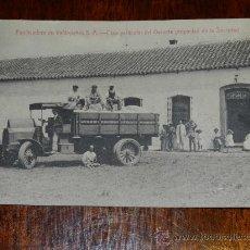 Postales: ANTIGUA POSTAL DE LA PANIFICADORA DE VALDEPEÑAS S.A. - CIUDAD REAL - CASA PARTICULAR DEL GERENTE PRO. Lote 29250007