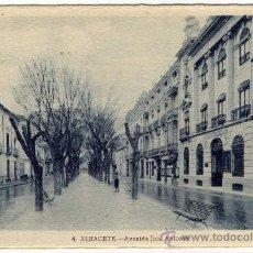 Postales: BONITA POSTAL - ALBACETE - AVENIDA JOSE ANTONIO. Lote 29296715