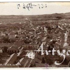 Postales: RARA POSTAL - ALMANSA (ALBACETE) - VISTA GENERAL . Lote 29342775
