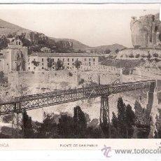 Postales: CUENCA - 20 - PUENTE DE SAN PABLO - ROISIN FOTOGRAFICA- (8356). Lote 29425101