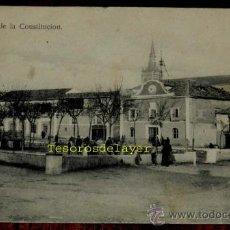 Postales: ANTIGUA POSTAL DE TORRIJOS, TOLEDO, PLAZA DE LA CONSTITUCION, NO CIRCULADA, ESCRITA.. Lote 29768335