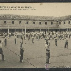 Postales: OCAÑA - - REFORMATORIO DE ADULTOS -20 -EJERCICIOS DE GIMNASIA - MAZAS Y PICAS - (8814) -(8812). Lote 30210535