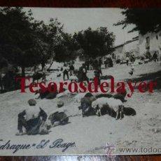 Postales: ANTIGUA FOTO POSTAL DE JADRAQUE (GUADALAJARA) EL PEAGE - ED. ALSINA Nº 7 - SIN CIRCULAR. Lote 53331848
