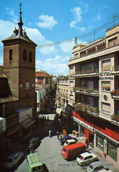 TALAVERA DE LA REINA 2012 CALLE DE SAN FRANCISCO EDICIONES ARRIBAS ESCRITA CIRCULADA SELLO (Postales - España - Castilla la Mancha Moderna (desde 1940))