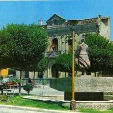 Postales: PUERTOLLANO AYUNTAMIENTO F.I.T.E.R. ESCRITA CIRCULADA SELLO. Lote 30499367