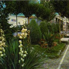 Postales: PUERTOLLANO JARDINES DE SAN GREGORIO F.I.T.E.R. ESCRITA CIRCULADA SELLO. Lote 30510551