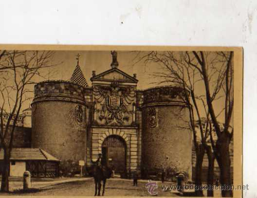 TOLEDO Nº 8 PUERTA DE VISAGRA HELIOTIPIA ARTÍSTICA ESPAÑOLA SIN CIRCULAR (Postales - España - Castilla La Mancha Antigua (hasta 1939))