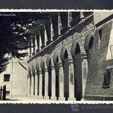 Postales: POSTAL DE GUADALAJARA: PALACIO DEL INFANTADO, ARCADAS DE LA FACHADA DE LA HUERTA (FOTO CAMARILLO). Lote 30929801