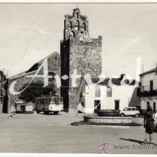 Postales: BONITA POSTAL - CHILLON (CIUDAD REAL) - PLAZA DEL CAUDILLO - AMBIENTADA COCHES DE EPOCA - MATASELLO. Lote 31188675