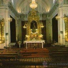 Postales: INTERIOR IGLESIA PARROQUIAL OCAÑA TOLEDO ESCRITA CIRCULADA SELLO. Lote 31690010