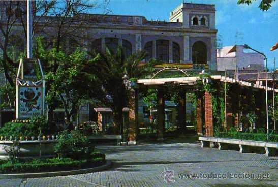 PUERTOLLANO GRAN TEATRO ED. F.I.T.E.R. AÑO 1968 ESCRITA CIRCULADA SELLO (Postales - España - Castilla la Mancha Moderna (desde 1940))