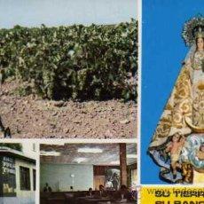 Postales: VILLARTA DE SAN JUAN VIRGEN DE LA PAZ ESCUDO DE ORO ESCRITA CIRCULADA SELLO. Lote 31780583