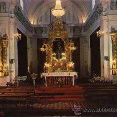 Postales: OCAÑA TOLEDO INTERIOR IGLESIA PARROQUIAL ESCRITA CIRCULADA SELLO. Lote 31874420