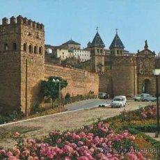 Postales: POSATL - PUERTA DE BISAGRA Y MURALLAS - TOLEDO - JULIO DE LA CRUZ - 84. Lote 32516225