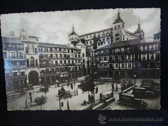 POSTAL 31. TOLEDO. PLAZA ZOCODOVER. HELIOTIPIA ARTÍSTICA ESPAÑOLA. (Postales - España - Castilla La Mancha Antigua (hasta 1939))