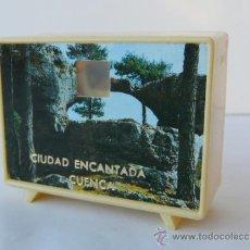 Postales: OCHO DIAPOSITIVOS CON IMAGENES DE CUENCA - CIUDAD ENCANTADA , 1960-1970. Lote 33070598