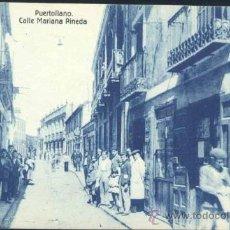 Postales: PUERTOLLANO (CIUDAD REAL).- CALLE MARIANA PINEDA. Lote 33219119