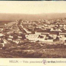 Postales: HELLÍN (ALBACETE).- VISTA PANORAMICA (PARTE SUR). Lote 33234898