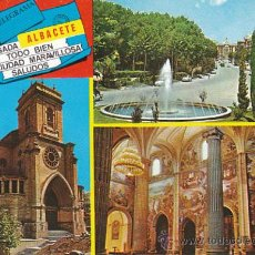 Postales: ALBACETE, EDITOR: PARIS Nº 902. Lote 33618372